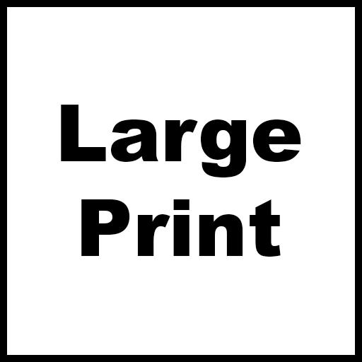 Large Print logo