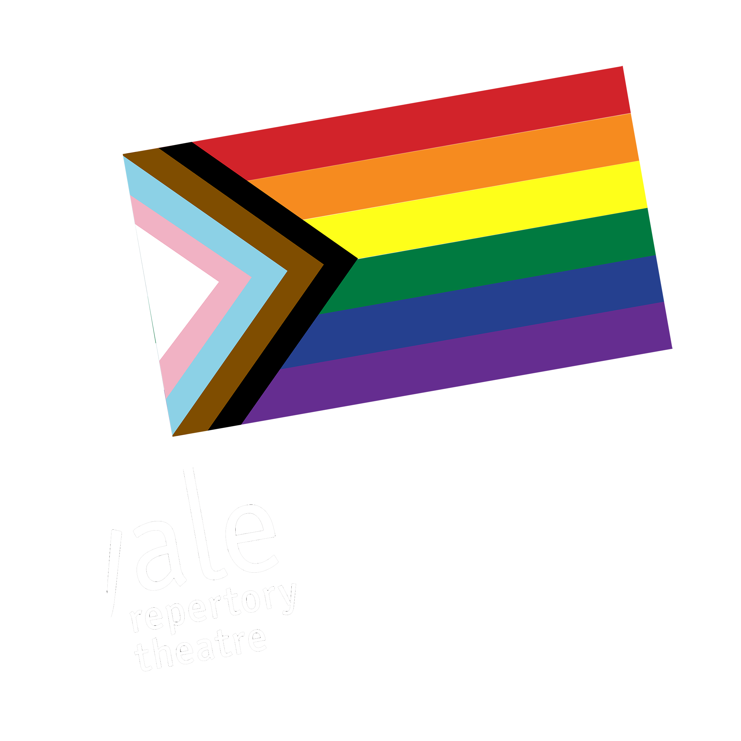 Yale Rep Equity, Diversity, and Inclusion flag