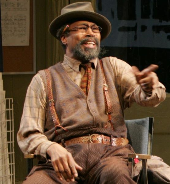 Anthony Chisholm in August Wilson's Radio Golf directed by Timothy Douglas, Yale Repertory Theatre.