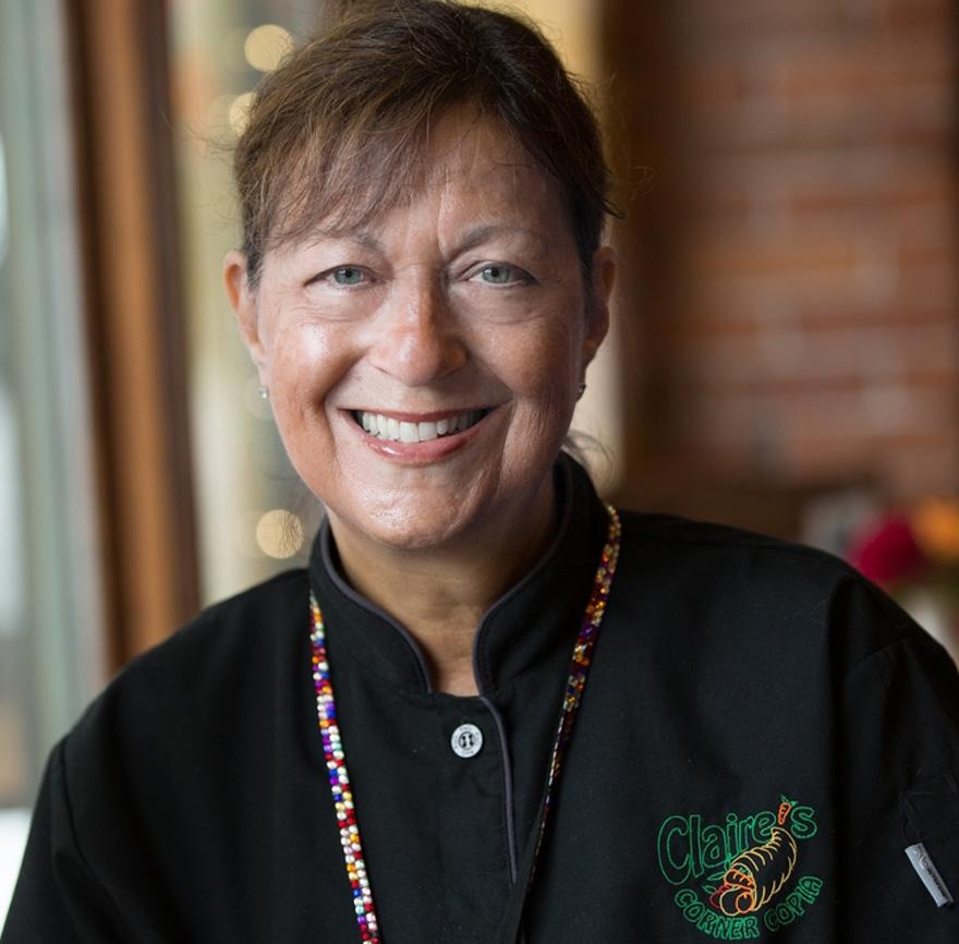 Claire Criscuolo, owner of Claire's Corner Copia